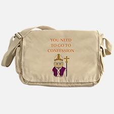 confession Messenger Bag