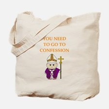 confession Tote Bag