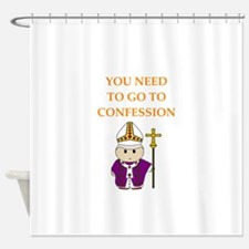 confession Shower Curtain