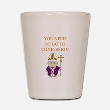confession Shot Glass