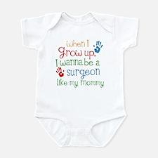 Surgeon Like Mommy Infant Bodysuit