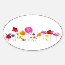 wild meadow flowers Decal