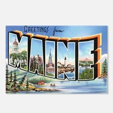 Maine Postcard Postcards (Package of 8)