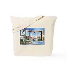 Maine Postcard Tote Bag