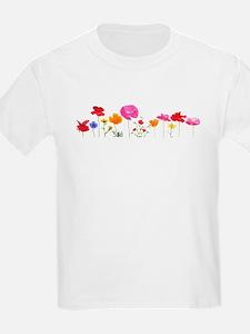 wild meadow flowers T-Shirt