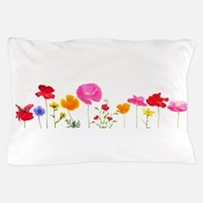 wild meadow flowers Pillow Case