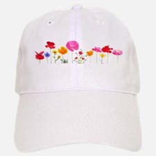 wild meadow flowers Baseball Baseball Cap