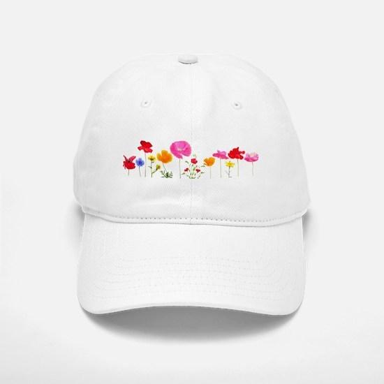 wild meadow flowers Hat