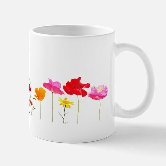 wild meadow flowers Mugs