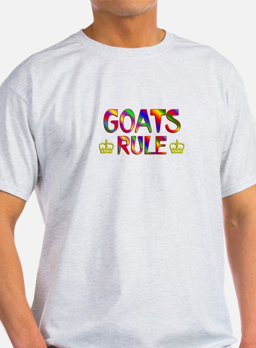 Goats Rule T-Shirt
