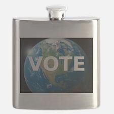 EARTHVOTE Flask