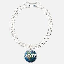 EARTHVOTE Charm Bracelet, One Charm