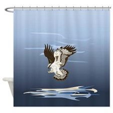 Aerial Predator Shower Curtain