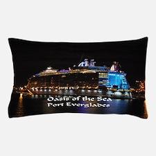 Oasis of the seas Pillow Case