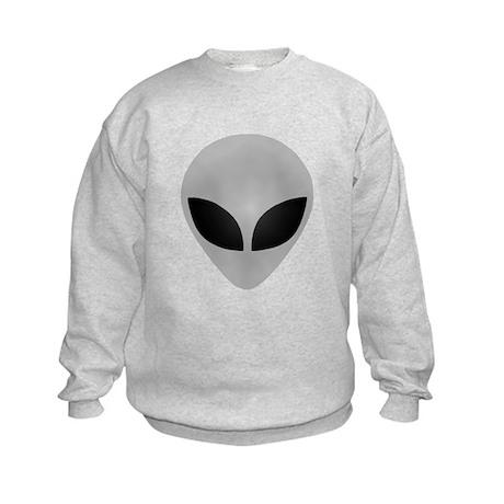 Alien Head Kids Sweatshirt