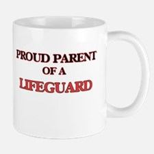 Proud Parent of a Lifeguard Mugs