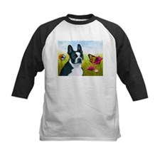 Dog 134 Boston Terrier Baseball Jersey