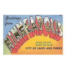 Minneapolis Postcard Postcards (Package of 8)