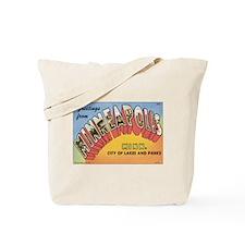 Minneapolis Postcard Tote Bag
