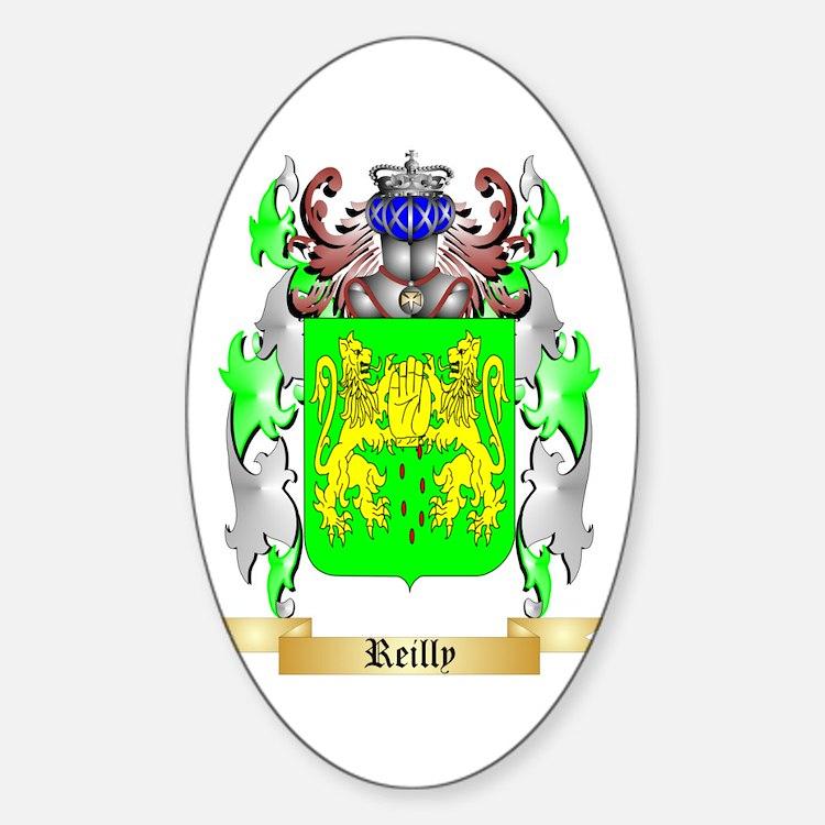 Reilly Sticker (Oval)