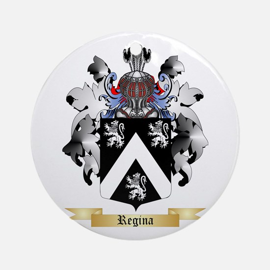 Regina Round Ornament