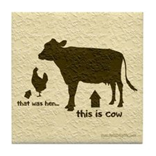 That was hen... Tile Coaster