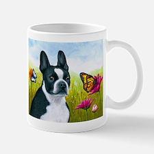 Dog 134 Boston Terrier Mugs