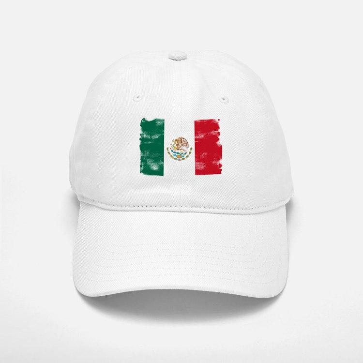Mexican Flag Cap