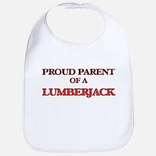 Proud Parent of a Lumberjack Bib