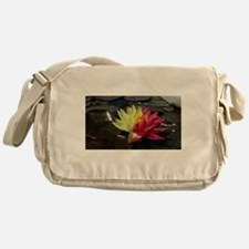 Lotus Flower Messenger Bag
