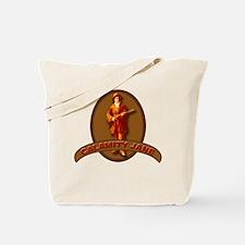 Calamity Jane Wild West Hero Tote Bag