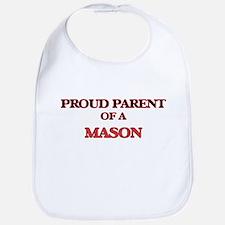 Proud Parent of a Mason Bib