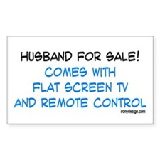 Husband For Sale! Rectangle Decal
