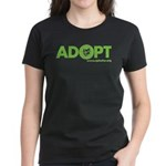 Adopt Women's T-Shirt (dark)