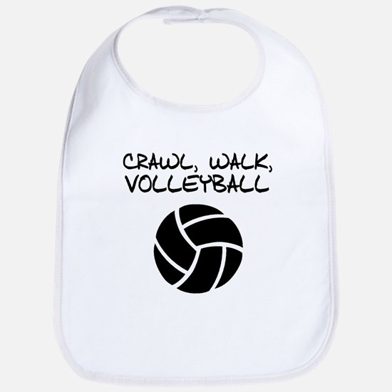 Crawl Walk Volleyball Bib