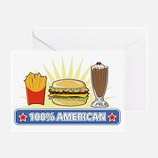 Unique Junk food Greeting Card