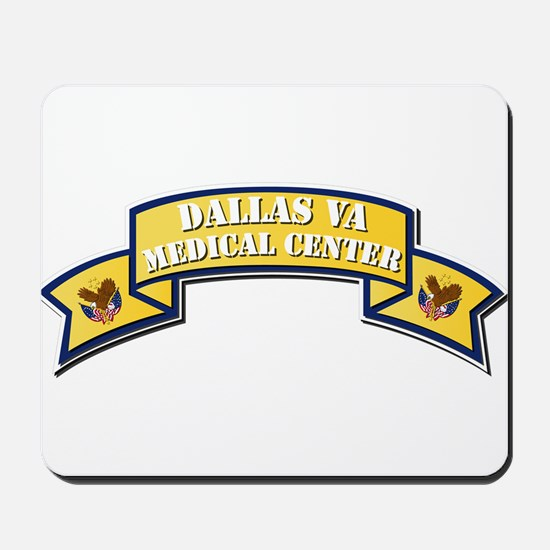 VA - Scroll - Medical Center - Dallas Mousepad