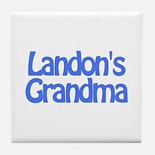 Landon's Grandma Tile Coaster