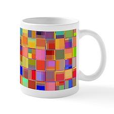 Color Mosaic Mugs