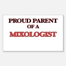 Proud Parent of a Mixologist Decal