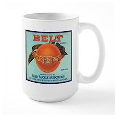 Vintage Belt Oranges Fruit Cr Mug