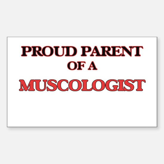 Proud Parent of a Muscologist Decal