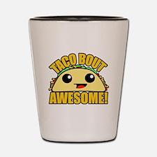 Funny Taco Shot Glass