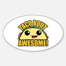 Taco Bout Awesome Decal