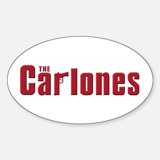 The Carlones Oval Decal