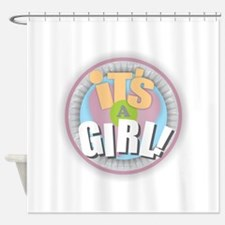It's a GIRL! Shower Curtain