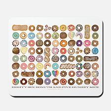 86 Donuts Mousepad