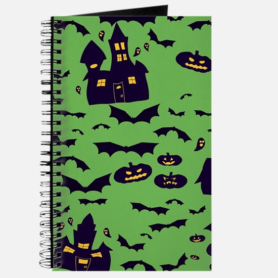 Green Haunted House Journal