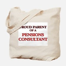 Proud Parent of a Pensions Consultant Tote Bag