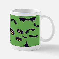 Green Haunted House Mugs